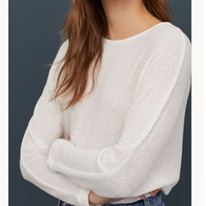 NEW H&M Dolman Sleeved Top